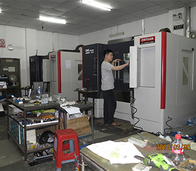 Parts CNC machining workshop